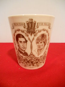 Royal Doulton Princess Diana Marriage Tumbler