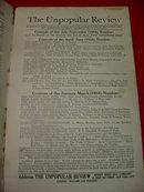 Unpopular Review Oct-Dec 1916 No. 12 Vol. VI