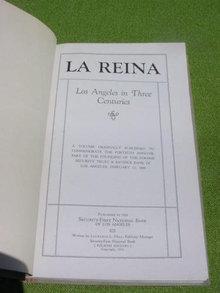 Los Angeles History in 3 Centuries La Reina