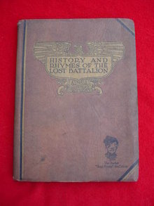 History & Rhymes Lost Battalion Buck Private McCollum