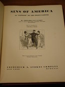 Sins of America Exposed by Police Gazette 1931 Book