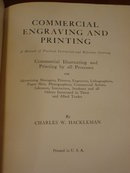 Commercial Engraving & Printing Charles Hackleman 1924