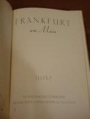 Frankfurt Germany am Main Illustrated Book