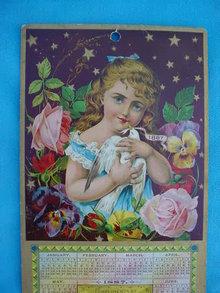Nice, 1887 Great Atlantic Pacific Tea Co. Calendar