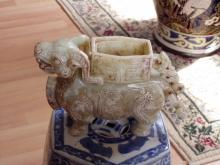 Chinese soapstone carving of a Beast ??