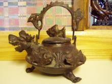 Old Japanese Bronze Teapot