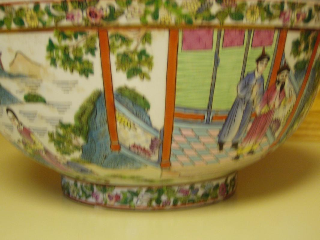 Chinese Punch Bowl