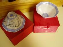 19th C Chinese Eggshell Porcelain Bowls