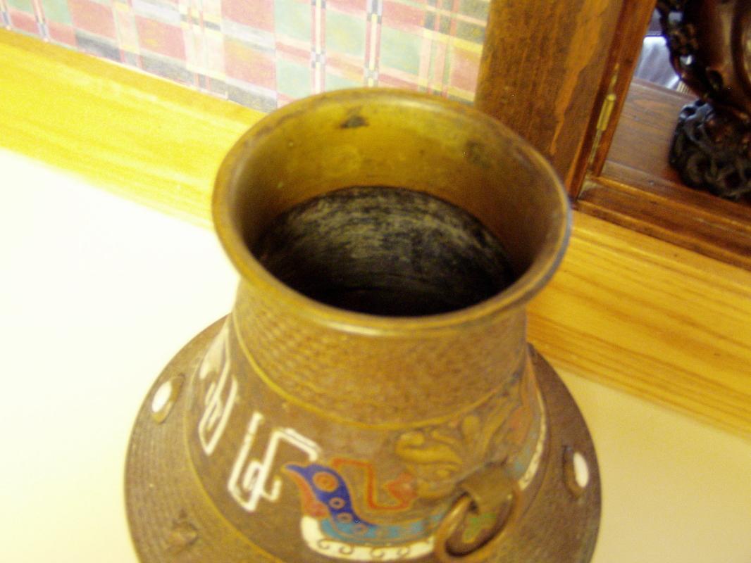 Antique Chinese Bronze Vase