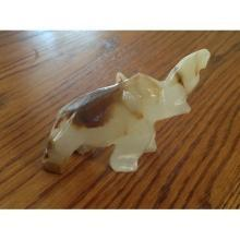 Carved Onyx Elephant