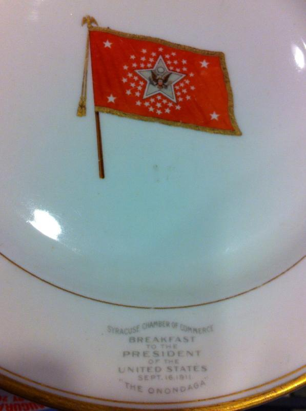 Wm Howard Taft Breakfast Plate
