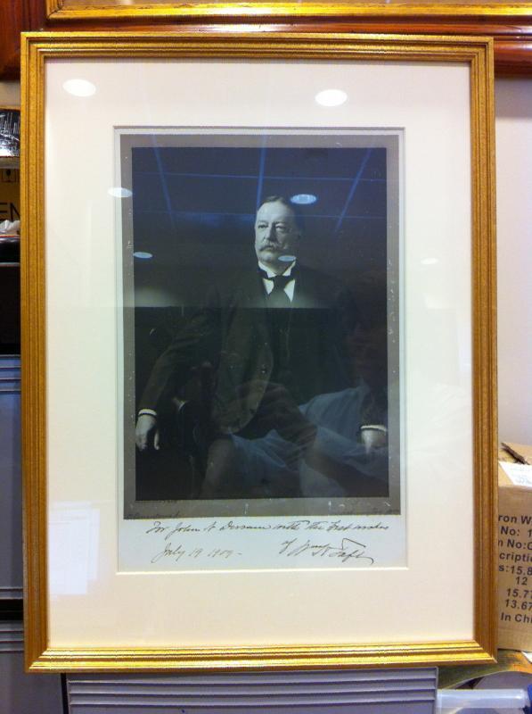 Portrait of President Wm Howard Taft