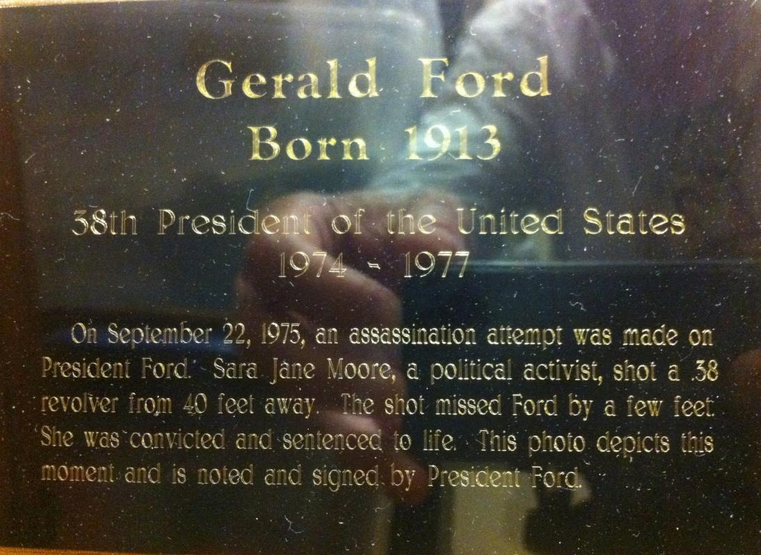 President Gerald Ford Assassination Attempt
