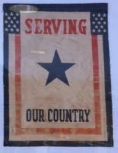 World War I Service Banner
