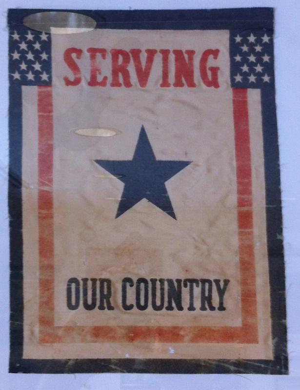 World War I Service Banner