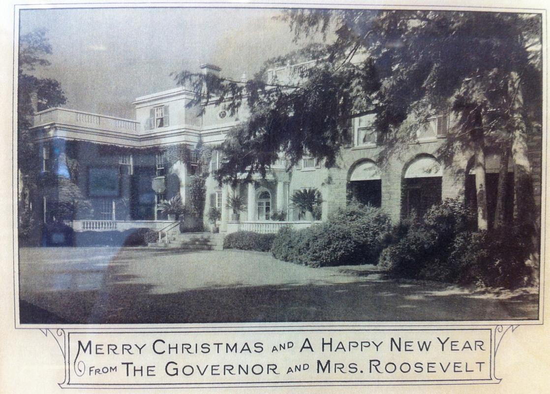 Franklin D Roosevelt 1932 Christmas Card