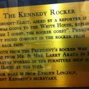 Fabric of JFK's rocking chair