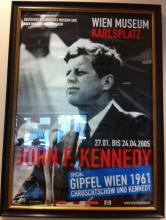 John F Kennedy Exhibit Poster