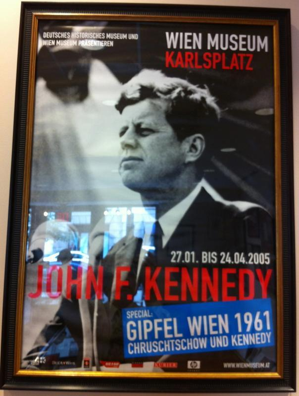 John F Kennedy Exhibit Poster