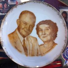 Eisenhower Commemorative Plate