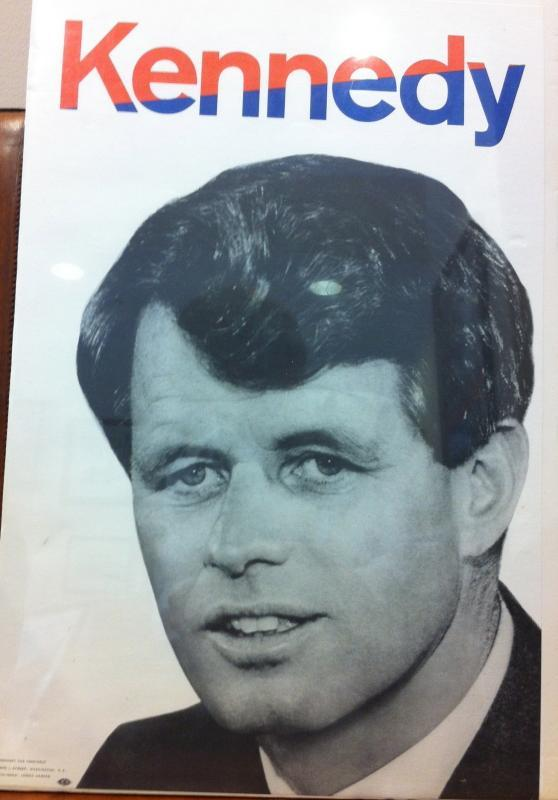 Robert F. Kennedy 1968 Poster for President