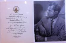 Richard M. Nixon Inaugural Invitation 1969