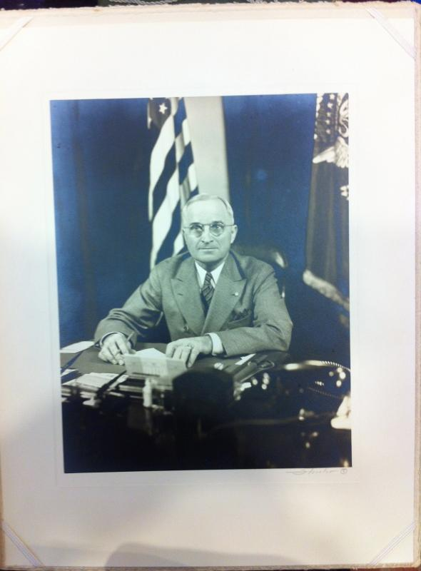 Portrait of President Harry S Truman