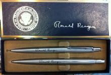 Ronald Reagan Pen and Pencil Set