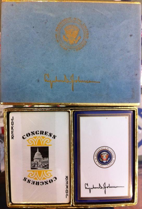 Lyndon B. Johnson Playing Cards