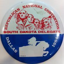 South Dakota Delegation button