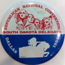 South Dakota Delegation button