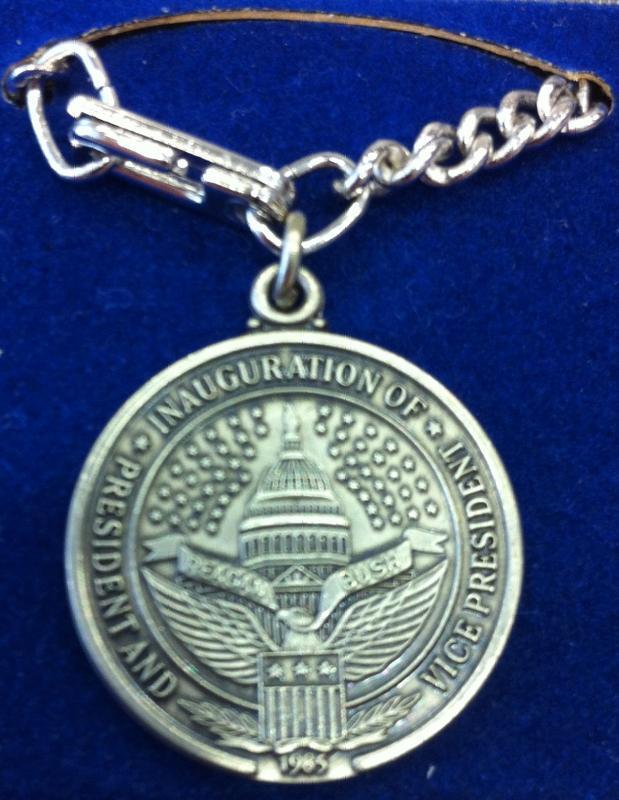 Ronald Reagan 2d Inaugural charm bracelet