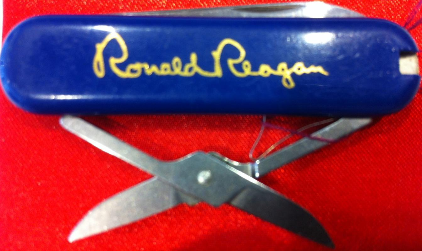 Ronald Reagan Gift Pocket Knife