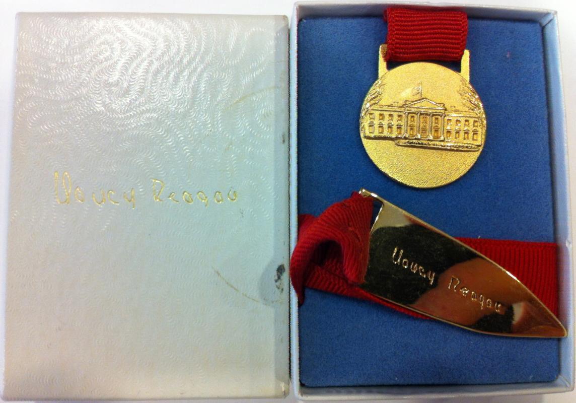 Nancy Reagan Gift Bookmark