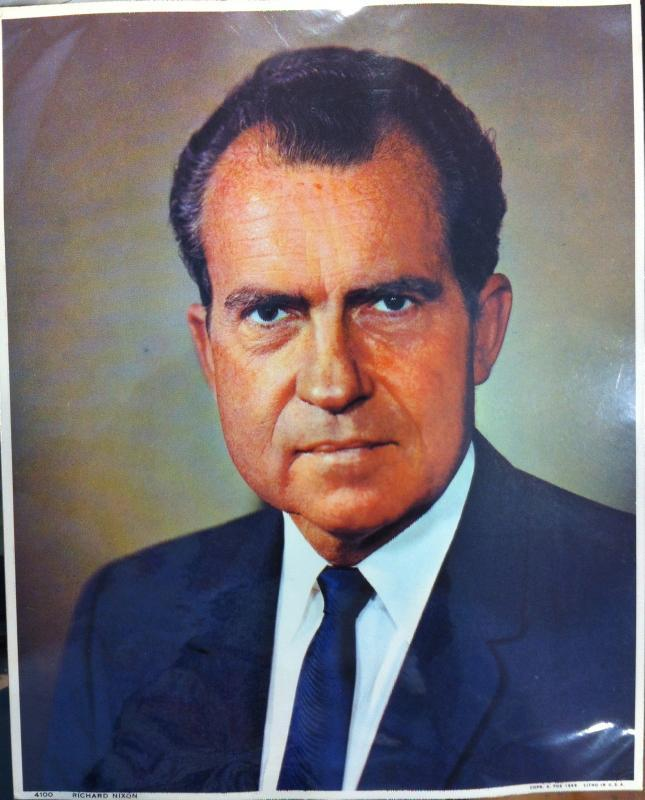 President Richard Nixon Photograph