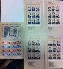 Presidential Stamp Series Ameripex '86