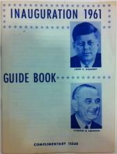 President John F. Kennedy Inaugural 1961 Guide Book