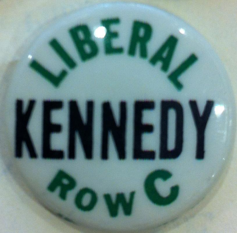 John F. Kennedy 1960 Convention Button