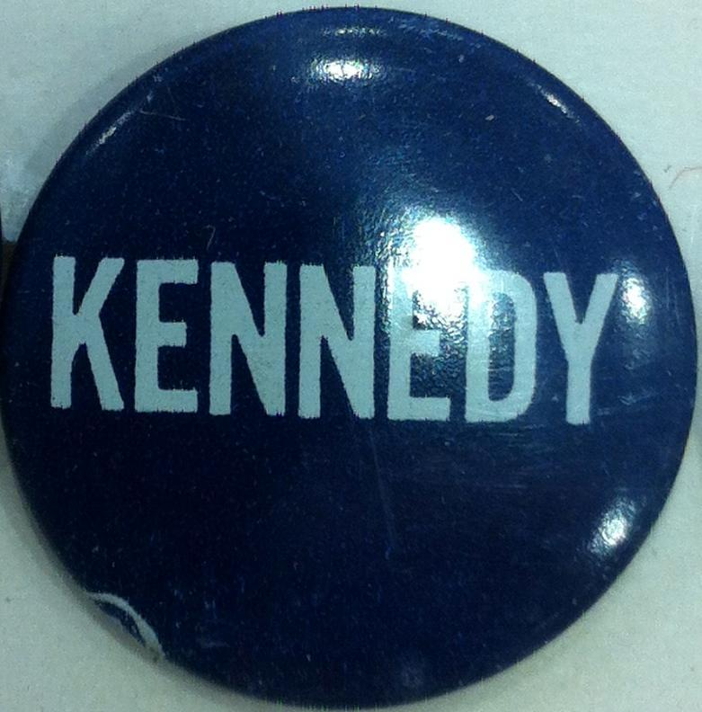 Ted Kennedy Campaign for Senate button 1980