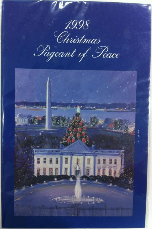 Christmas Pageant of Peace Program 1998