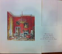 Ronald Reagan White House Christmas Card Gift Print 1982