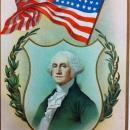 Washington's Birthday Greeting postcard