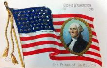 George Washington - Father of His Country postcard