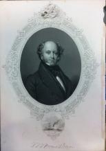 Engraving of President Martin van Buren