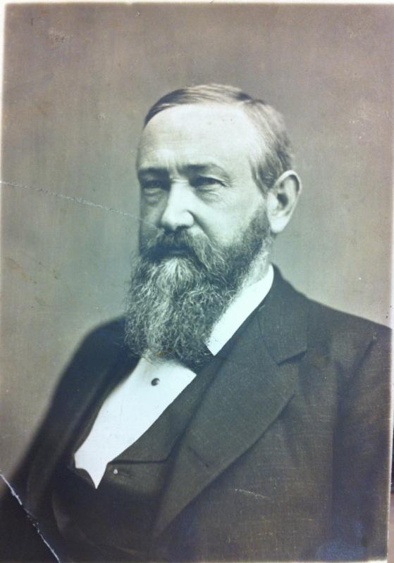 Photograph of President Benjamin Harrison