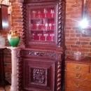 19C Oak Carved Cupboard