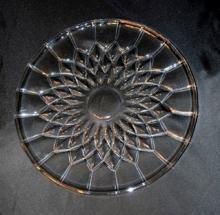Val St. Lambert Crystal Cake Plate