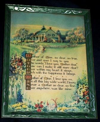 Mother of Mine Poem Vintage