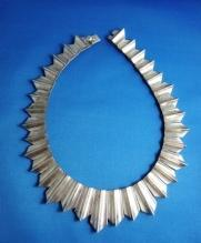 Vintage Necklace Antonio Pineda & Los Costillo Double Signed ULTRA RARE 500 grams Taxco Mexico