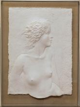 Frank Gallo Cast Paper Sculpture 'Innocence' Sg'd Ltd Framed